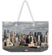 A New York City Afternoon Weekender Tote Bag