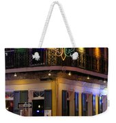 A Night In The French Quarter Weekender Tote Bag