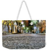A Night On The Street Weekender Tote Bag