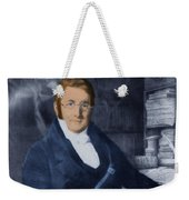 A. P. De Candolle, Swiss Botanist Weekender Tote Bag by Science Source