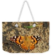 A Painted Lady Looking For Sex 8619 3369 Weekender Tote Bag