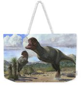 A Pair Of Pycnonemosaurus Nevesi Weekender Tote Bag