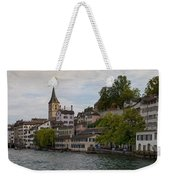 A Panorama View Of Zurich Weekender Tote Bag