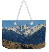 A Panoramic View Of Mount Whitney Weekender Tote Bag