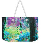 A Path Along A River Weekender Tote Bag