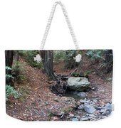 A Peaceful Redwood Creek On Mt Tamalpais Weekender Tote Bag