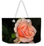 A Peach Of A Rose Weekender Tote Bag