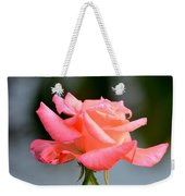 A Peachy Pink Delight Weekender Tote Bag