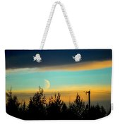 A Peek At The Moon Weekender Tote Bag