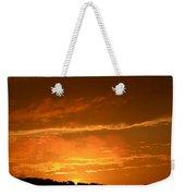 A Peeking Sunrise Weekender Tote Bag