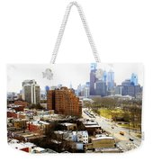 A Philadelphian View Two Weekender Tote Bag