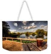 A Pint With A View  Weekender Tote Bag