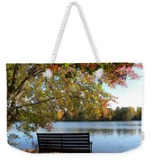 A Place For Thanks Giving Weekender Tote Bag