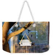 A Place To Perch Weekender Tote Bag by Nikki Marie Smith