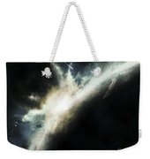 A Planet Pushed Out Of Its Orbit Weekender Tote Bag by Tomasz Dabrowski