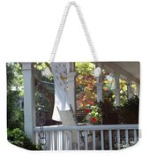 A Porch To Reflect Weekender Tote Bag