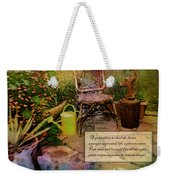 A Prayer Expressed Weekender Tote Bag