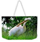 A Preening Stork Weekender Tote Bag