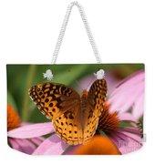 A Pretty Flying Flower Weekender Tote Bag