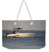 A Proper Fishing Boat Weekender Tote Bag