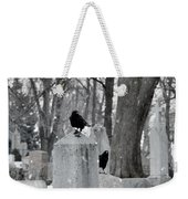 A Quiet Winter Day At The Graveyard Weekender Tote Bag