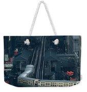A Railway Encircles Thirty-five Blocks Weekender Tote Bag