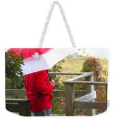 A Rainy Summer's Day Weekender Tote Bag