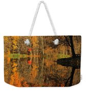 A Reflection Of October Weekender Tote Bag