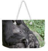 A Relaxed Western Lowland Gorilla Weekender Tote Bag