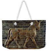 A Relief Depicts A Bull Weekender Tote Bag