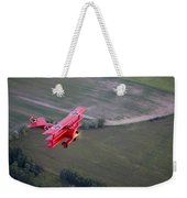 A Replica Fokker Dr. I, A Red Triplane Weekender Tote Bag