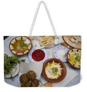 A Restaurant In The Old Part Weekender Tote Bag