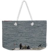 A Rigid Hull Inflatable Boat Weekender Tote Bag