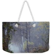 A Road Through A Misty Wood Weekender Tote Bag