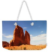 A Rock At Arches Weekender Tote Bag