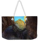 A Rock Balanced Precariously Weekender Tote Bag