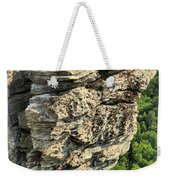 A Rocky Grin Weekender Tote Bag
