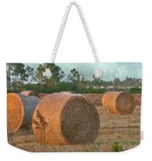 A Roll In The Hay Weekender Tote Bag