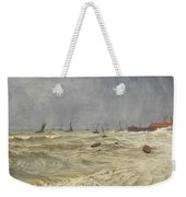 A Rough Day At Leigh Weekender Tote Bag