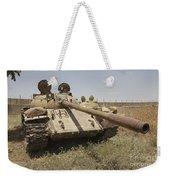 A Russian T-55 Main Battle Tank Weekender Tote Bag