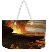 A Scene On Jupiters Moon, Io, The Most Weekender Tote Bag