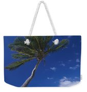 A Scenic View Of A Palm Tree Weekender Tote Bag