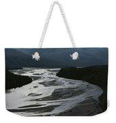 A Scenic View Of The Matanuska River Weekender Tote Bag