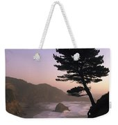 A Scenic View Of The Oregon Coast Weekender Tote Bag