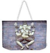 A Sculpture Of The Hindu God Ganesha Weekender Tote Bag