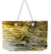 A Sea Of Raw Sienna Weekender Tote Bag