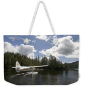 A Seaplane Taking Off From Vancouver Weekender Tote Bag