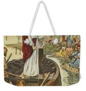 A Sermon  Weekender Tote Bag by English School