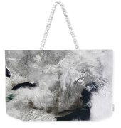 A Severe Winter Storm Weekender Tote Bag