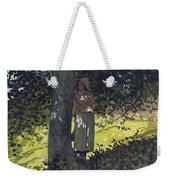 A Shady Spot Weekender Tote Bag by Winslow Homer